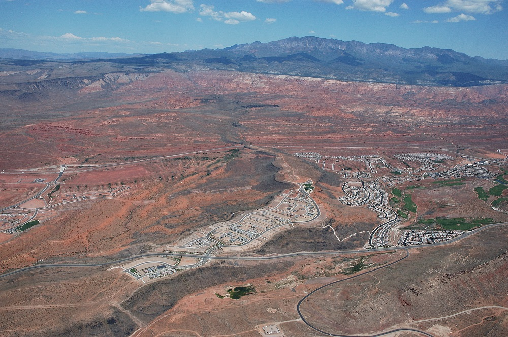 Coral Canyon Aerial